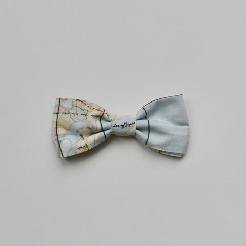 Little Gentleman's Map Bow-tie