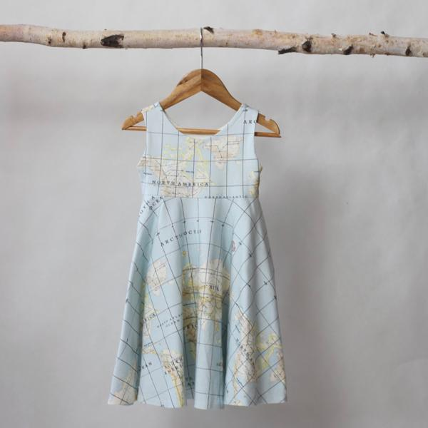 Map Swing Dresses