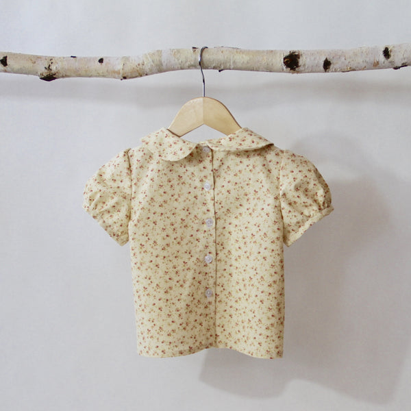 Floral Blouse - Violett Valentine - Children Clothing - Boutique