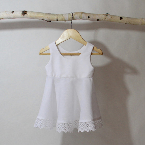 Grecian Holiday Top - Violett Valentine - Children Clothing - Boutique
