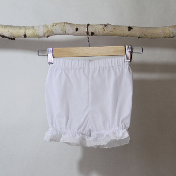 White Pantaloons - Violett Valentine - Children Clothing - Boutique