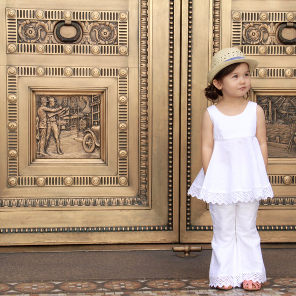 Grecian Holiday Pants - Violett Valentine - Children Clothing - Boutique