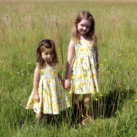 Lemon Dress - Violett Valentine - Children Clothing - Boutique