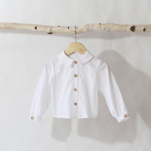 Poet's Blouse - Violett Valentine - Children Clothing - Boutique