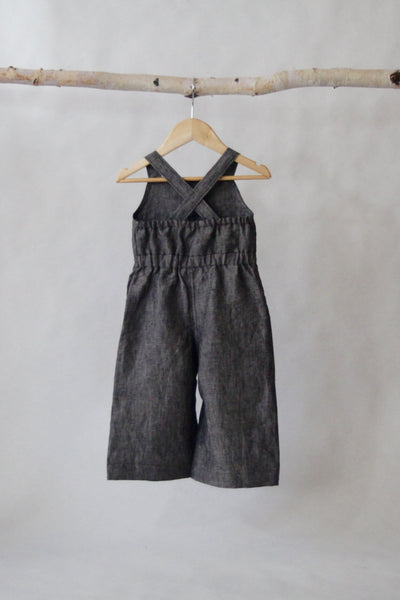 Tula's Trousers -Charcoal - Violett Valentine - Children Clothing - Boutique