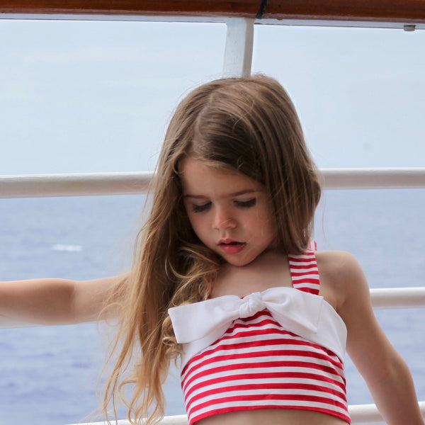 Anchor's Away Crop Top - Violett Valentine - Children Clothing - Boutique