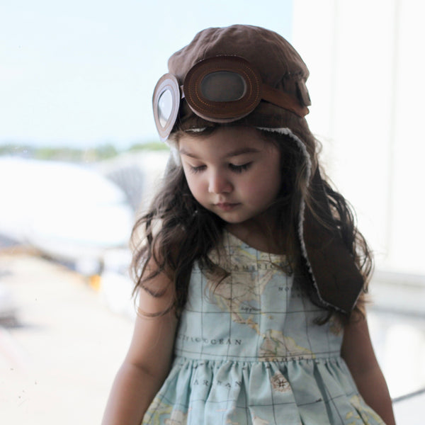 Violett's Aviator Hat - Violett Valentine - Children Clothing - Boutique