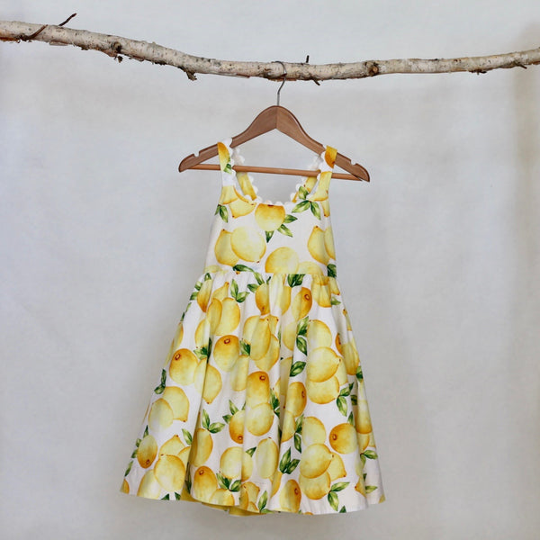 Lemon LuLu Dress - Violett Valentine - Children Clothing - Boutique