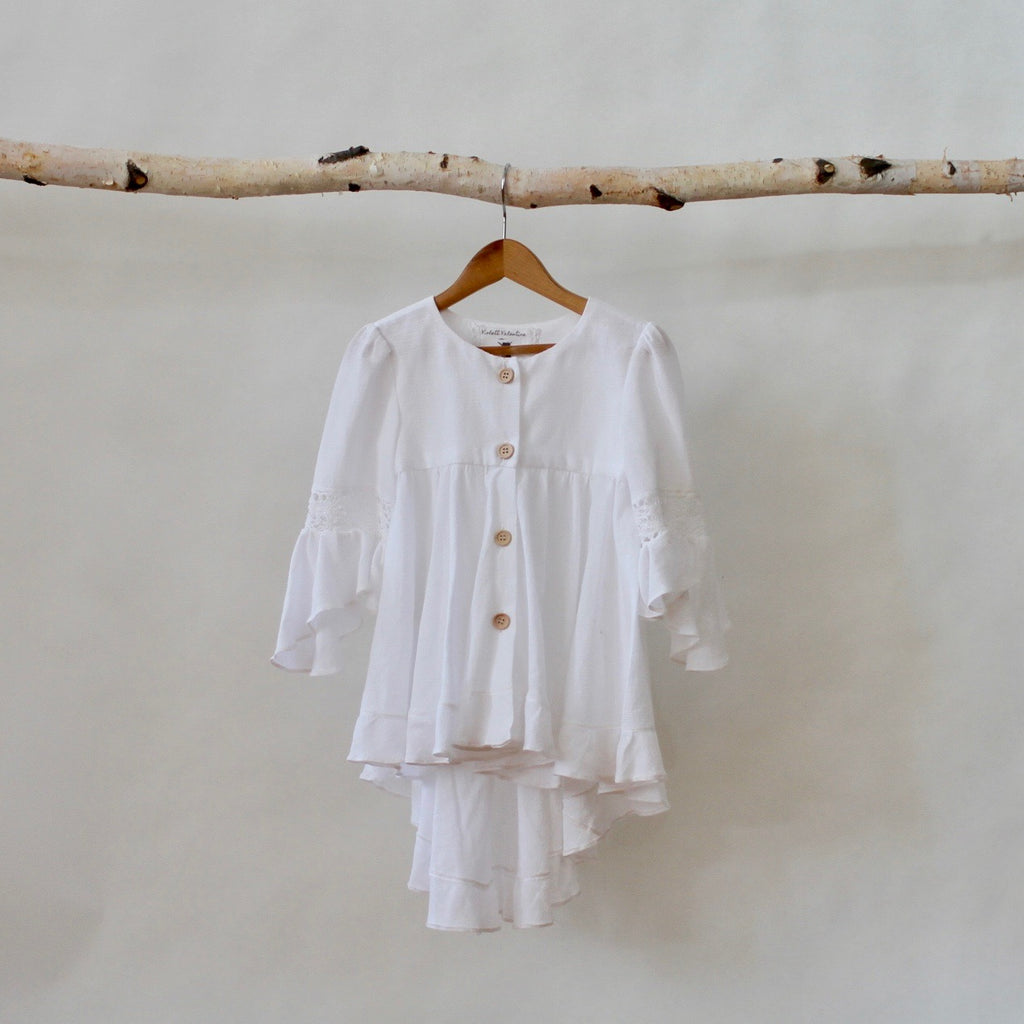 Mini Boheme Blouse - Violett Valentine - Children Clothing - Boutique
