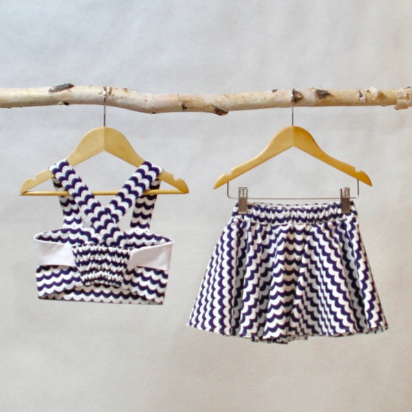 Mitzi Skort Set - Violett Valentine - Children Clothing - Boutique