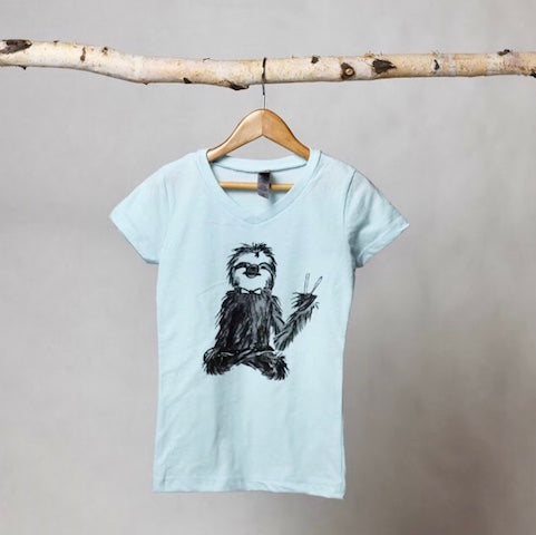 Jerry Sloth Tee - Violett Valentine - Children Clothing - Boutique