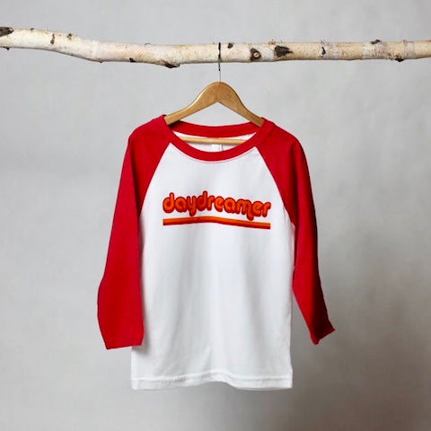 Daydreamer Baseball Tee - Violett Valentine - Children Clothing - Boutique