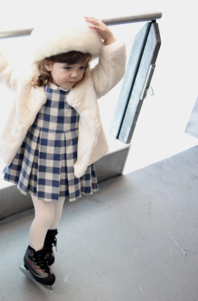 Gingham Dress - Violett Valentine - Children Clothing - Boutique