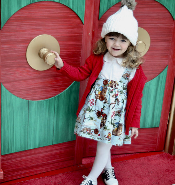 Saddle Skirt - Violett Valentine - Children Clothing - Boutique