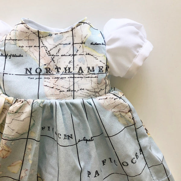 Doll Map Dress