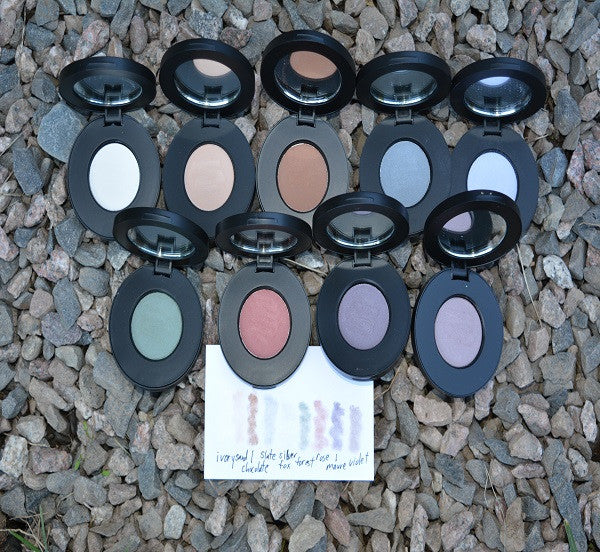 NEW! organic eye shadow