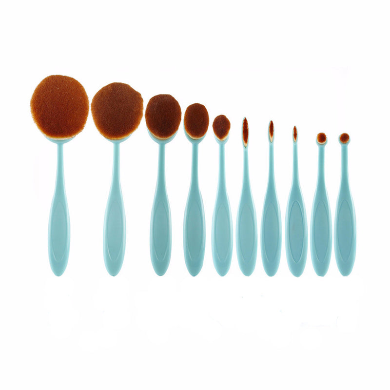 Pro Oval Brush Set-Tools-Flawless Fleur