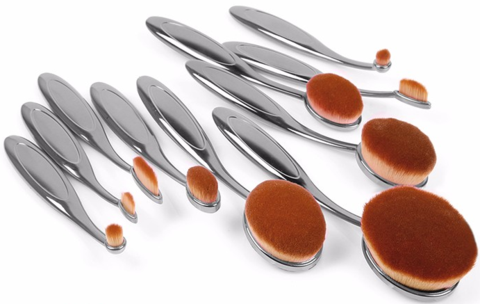 Pro 3 Oval Brush Set-Tools-Flawless Fleur