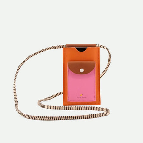 Phone Pouch - Carrot Orange