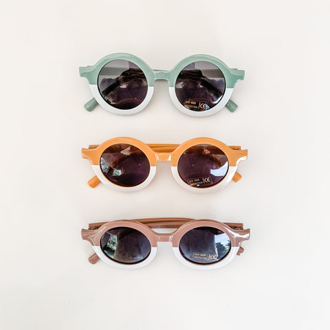 Baby Sunnies -  2-tone glasses