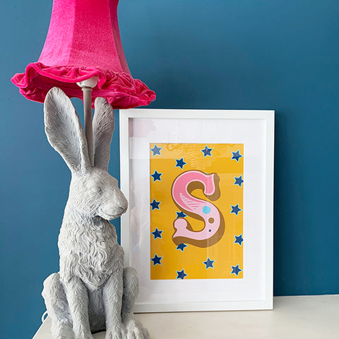 Circus Print - Antique A-Z