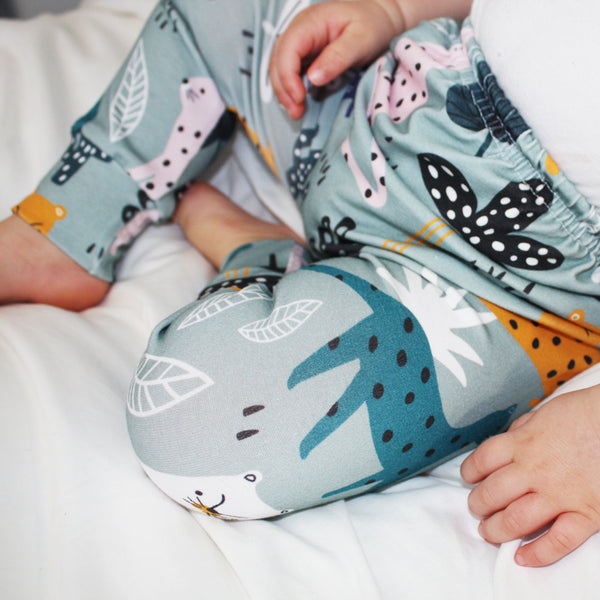 Baby Legging - Colourful Leopards