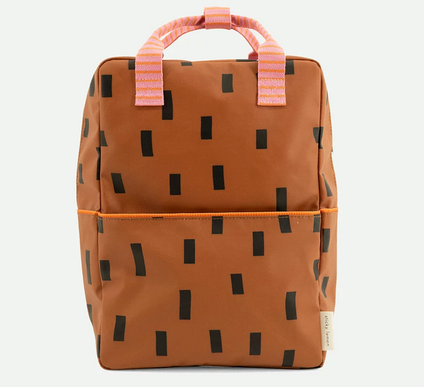 Large Backpack Sprinkles - Syrup Brown
