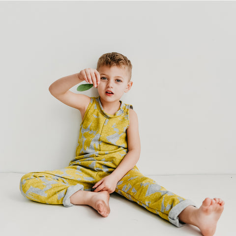 Bertie Jumpsuit - Sunshine Dabs  - SALE WAS £26.00 - NOW £18.20