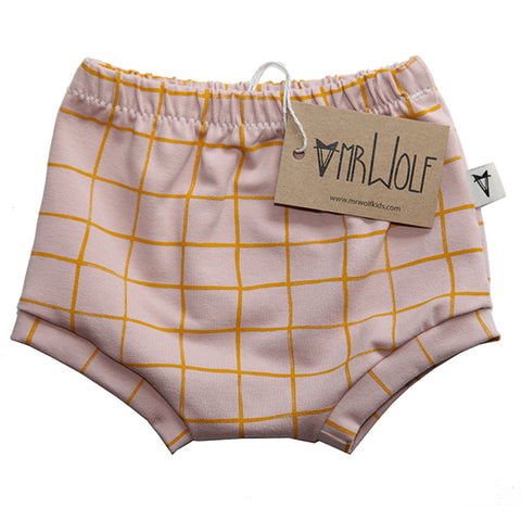 Baby Shorties - Blush Check