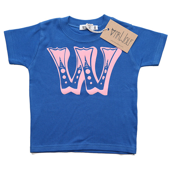 Circus Letter T-Shirt - Royal Blue