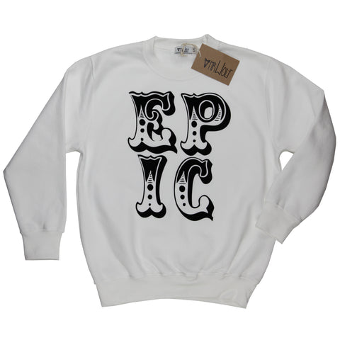 Sweatshirt White - Epic