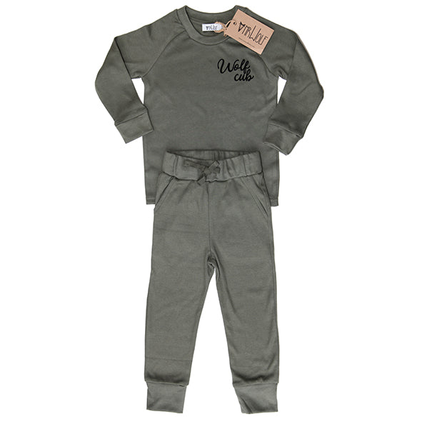 Lounge Set - Khaki - Wolf Cub