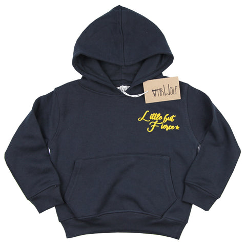 Hoody Black - Little but Fierce