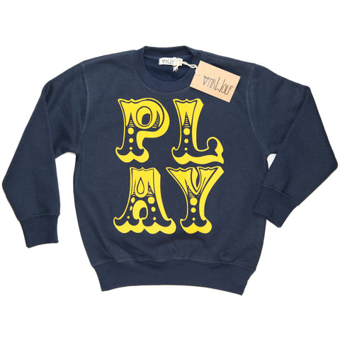 Sweatshirt Navy - Play