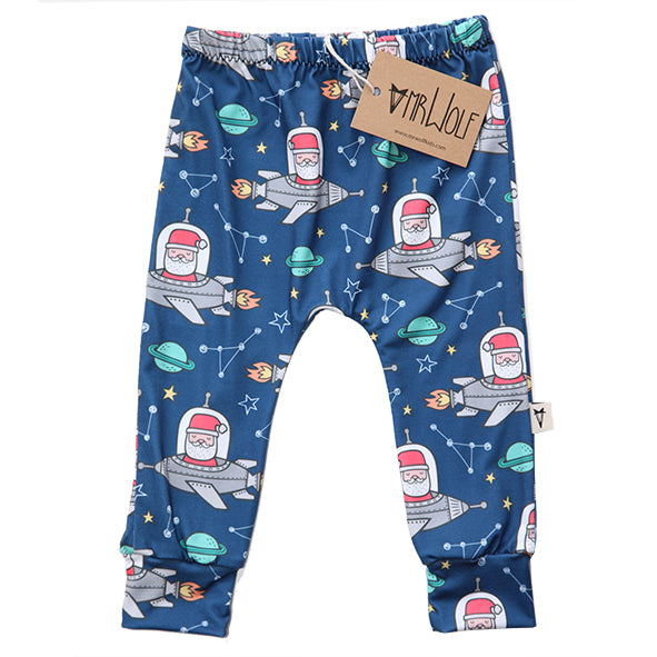Baby Legging - Space Santa