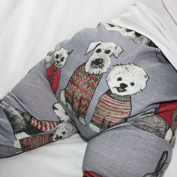 Baby Legging - Sweater Animals