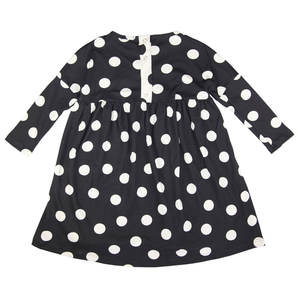 Swing Dress - Tabatha Negative Spot -  SALE WAS £24.00 - NOW £16.80
