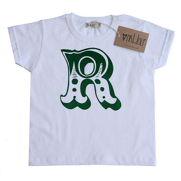 Circus Letter T-Shirt - White