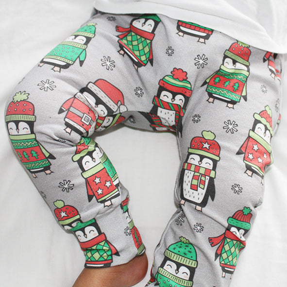 Baby Legging - Christmas Penguin