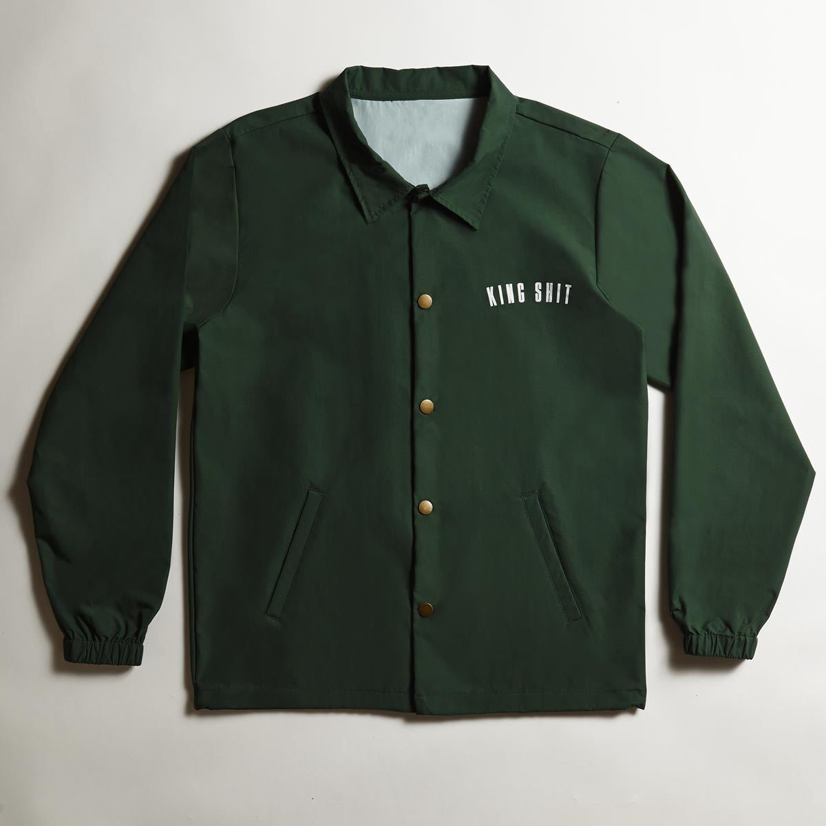 Varsity Coach's Jacket - Green