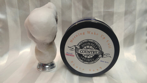 Morning Wake Up Call Shave Soap