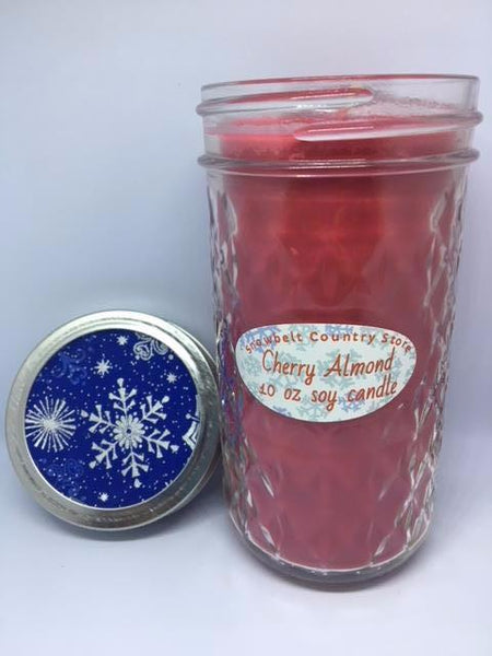 Cherry Almond Soy candle