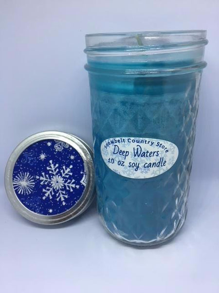 Deep Waters Soy candle