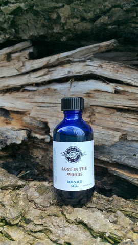 Lost in the woods beard oil