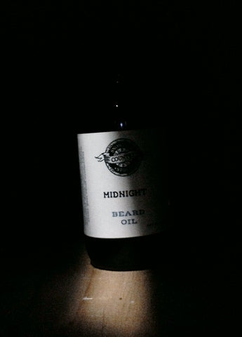 Midnight beard oil