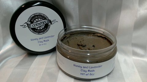 Honey and Lavender Clay Face Mask