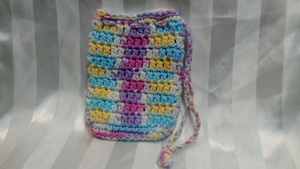 Soap Cozy - Pink/Purple/Yellow/White/Blue