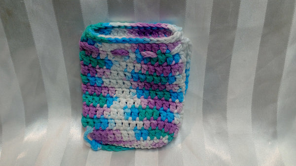 Soap Cozy - Purple/White/Turq/Emerald