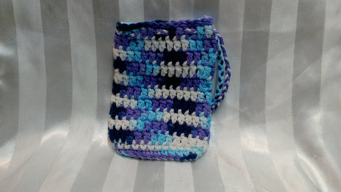 Soap Cozy - Indigo/White/Purple/Blue