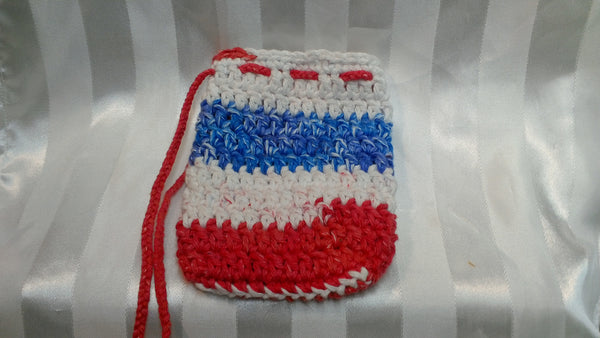 Soap Cozy - Red/White/Blue